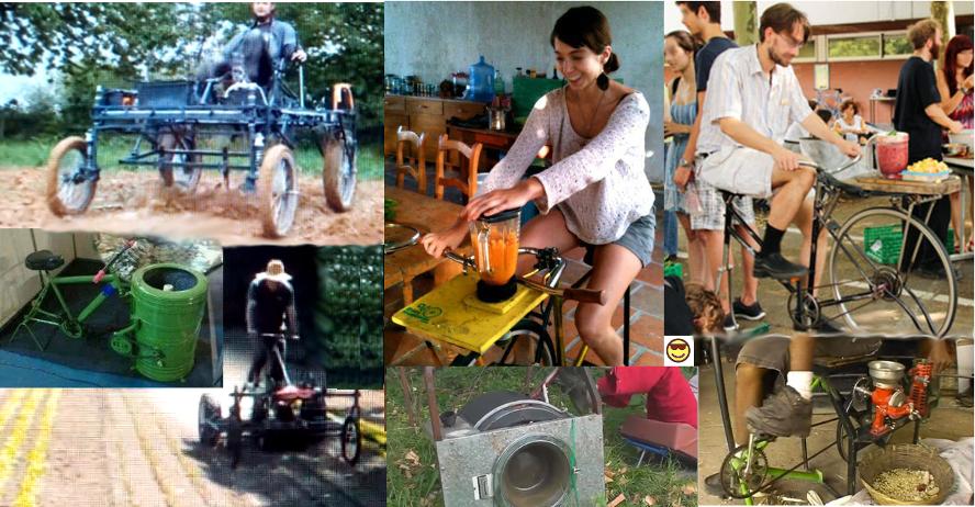 Bild: Muskelkraft-Maschinen, PedalTrecker, Waschmaschinen, Küchenmaschinen © Roy Rempt