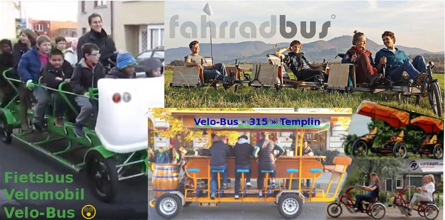 Velomobile für Gruppen-Mobilität + ÖPNV ·eine Auswahl der Vielfalt © Roy Rempt
