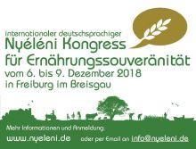 ESSEN.MACHT.GLÜCK; Nyeleni Kongress für Ernährungssouveränität in FReiburg