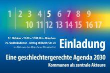 Einladung für den 12. Oktober