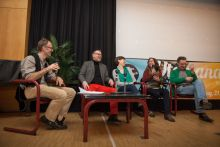 Podien und Filmgespräche beim Dokumentarfilmfestival in Hannover.